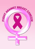 Fight breast cancer awareness Stock Image