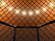 Free Fight Cage Royalty Free Stock Image - 20259636