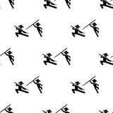 Fight Chinese fighters icon. Element of Fight icons for mobile concept and web apps. Pattern repeat seamless fight Chinese fighter. S icon can be used for web Royalty Free Stock Image