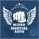 Fight club MMA Mixed martial arts Royalty Free Stock Photos