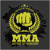 Fight club MMA Mixed martial arts Stock Photography