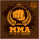 Fight club MMA Mixed martial arts Royalty Free Stock Images