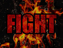Fight Concept Background Royalty Free Stock Photos