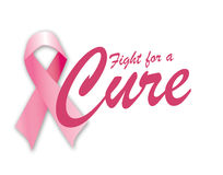 Fight for a cure Stock Image