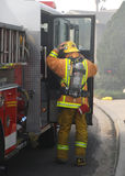 fight fire preparing to Στοκ εικόνες με δικαίωμα ελεύθερης χρήσης