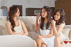 Fight between girls Stock Image