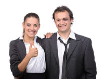 Fight Managers Stock Photography