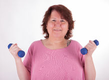 Fight the overweight Royalty Free Stock Photos