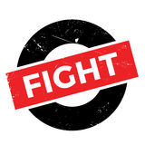 Fight rubber stamp. Grunge design with dust scratches. Effects can be easily removed for a clean, crisp look. Color is easily changed Royalty Free Stock Photography