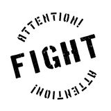 Fight rubber stamp. Grunge design with dust scratches. Effects can be easily removed for a clean, crisp look. Color is easily changed Royalty Free Stock Images