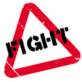 Fight rubber stamp Stock Photos