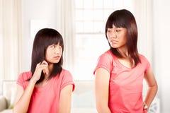 Fight between sibling Stock Photos