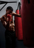 Fight training Royalty Free Stock Photography