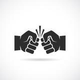 Fight vector icon Stock Photo