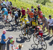 The Fight for Yellow - Tour de France 2016 Stock Photography
