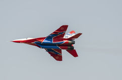 Fighter airplanes Stock Images