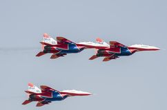 Fighter airplanes Stock Photo