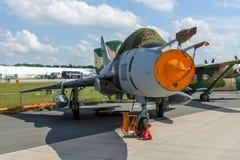 Fighter-bomber Sukhoi Su-22UM3K. Royalty Free Stock Images