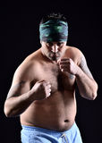 Fighter boxer Royalty Free Stock Photos