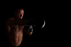 Fighter. Royalty Free Stock Photos