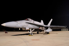 Fighter F-18 Royalty Free Stock Photo