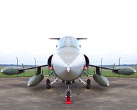 Fighter f104 Stock Photography