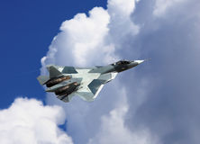 Fighter in flight Stock Photography