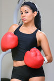 Fighter Girl Stock Photo