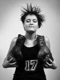 Fighter girl Stock Photos