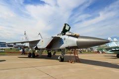 The fighter-interceptor MiG 31BM Royalty Free Stock Photos