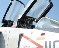 Fighter Jet. Cockpit of a fighter jet Stock Image