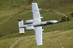 Fighter jet A10 Stock Photos