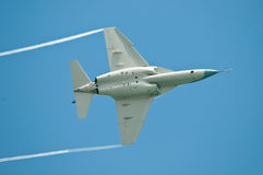 Fighter Jet at Airshow Stock Photo