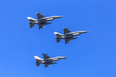 Fighter jet formation Stock Images