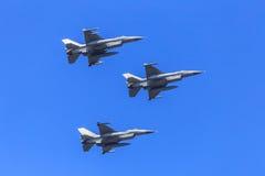 Fighter jet formation Stock Images