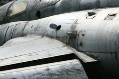 fighter jet_fuselage detail royalty free stock image