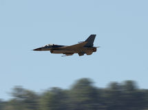Fighter jet high speed Royalty Free Stock Photos