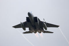 Fighter jet take off Royalty Free Stock Images