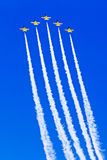 Fighter jets in a air show 4 Stock Photo