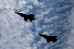 Fighter jets Royalty Free Stock Photography