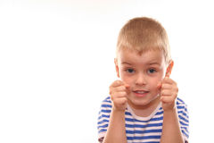 Free Fighter Kid Royalty Free Stock Images - 872739