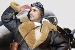 Fighter pilot Royalty Free Stock Photography