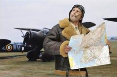 Fighter pilot Royalty Free Stock Photos