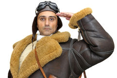 Fighter pilot Stock Photography