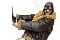 Fighter pilot Royalty Free Stock Image