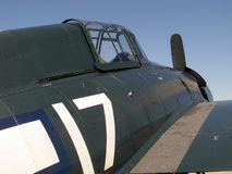 Fighter Plane. An American World War II fighter plane Stock Photography
