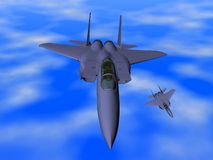 Fighter Plane Stock Photography