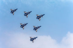 Fighter planes Stock Photography