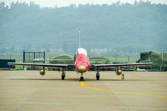 Fighter planes on the tarmac Royalty Free Stock Photos