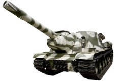 Fighter self-propelled gun Royalty Free Stock Photo
